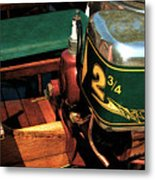 Two And Three Quarters Hp Muncie Outboard Motor Metal Print