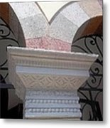 Two As One. Metal Print