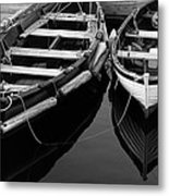 Two At Dock Metal Print