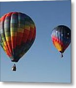 Two Balloons Metal Print