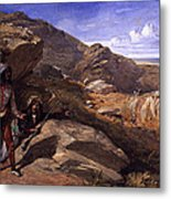 Two Bandits In The Hills, 1857 Metal Print