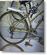 Two Bicycles Metal Print