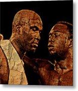 Two Boxers Metal Print by Lynda Payton