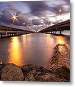 Two Bridges #1 Metal Print