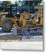 Two Cats Purring As They Rest. Metal Print