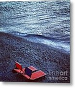 Two Chairs Metal Print by H Hoffman