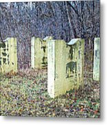 Two Cradles By The Woods Metal Print by MJ Olsen