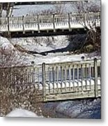 Two Foot Bridges Metal Print