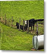 Two Gas Sources Metal Print