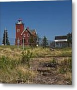 Two Harbors Mn Lighthouse 21 Metal Print