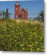 Two Harbors Mn Lighthouse 22 Metal Print