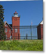 Two Harbors Mn Lighthouse 25 Metal Print