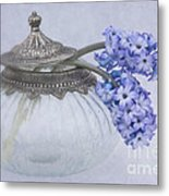 Two Hyacinth Flowers Metal Print