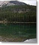 Two Jack Lake Sunset - Banff Nat. Park, Alberta Metal Print