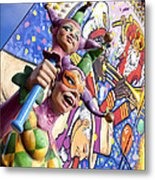 Two Jesters Metal Print by Caitlyn  Grasso