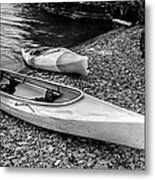 Two Kayaks On Seneca Lake Metal Print
