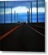 Two-lane Blacktop Metal Print