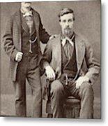 Two Men, 19th Century Metal Print