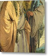Two Men In Oriental Costume Metal Print