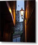 Two Post Ally Metal Print