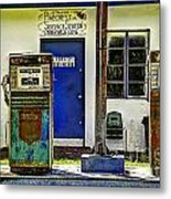 Two Pumps Metal Print