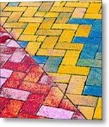 Two Sides Of One Line Metal Print