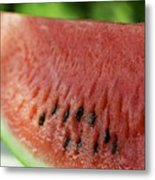 Two Slices Of Watermelon Metal Print