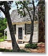 Two Tree Cottage Metal Print
