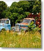 Route 66 Disney Truck Replicas Metal Print