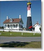Tybee Island Lighthouse Ga Metal Print