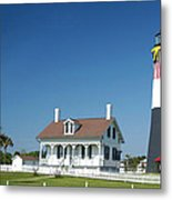 Tybee Island Lighthouse Georgia Metal Print