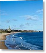 Tynemouth Longsands Metal Print