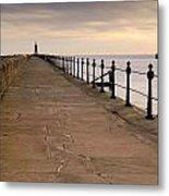 Tynemouth North Pier Metal Print