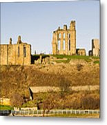 Tynemouth Priory And Castle Metal Print