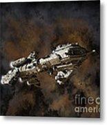 Typhon And Nebula Metal Print