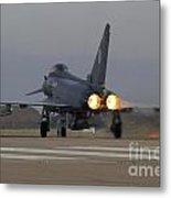 Typhoon Launch Metal Print