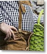 Tyrolean Man Metal Print