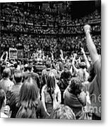 U2-crowd-gp13 Metal Print