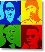 U2 Metal Print by John  Nolan