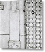 Udaipur City Palace Door Metal Print