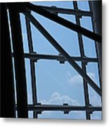 Udvar-hazy Center - Smithsonian National Air And Space Museum Annex - 1212103 Metal Print