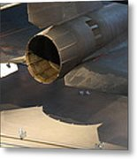 Udvar-hazy Center - Smithsonian National Air And Space Museum Annex - 1212108 Metal Print by DC Photographer