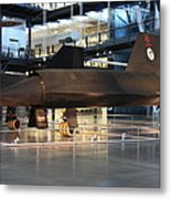 Udvar-hazy Center - Smithsonian National Air And Space Museum Annex - 121229 Metal Print by DC Photographer