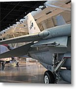 Udvar-hazy Center - Smithsonian National Air And Space Museum Annex - 121237 Metal Print by DC Photographer