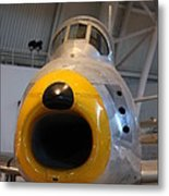 Udvar-hazy Center - Smithsonian National Air And Space Museum Annex - 121244 Metal Print by DC Photographer