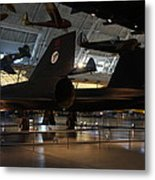 Udvar-hazy Center - Smithsonian National Air And Space Museum Annex - 121247 Metal Print by DC Photographer