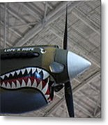 Udvar-hazy Center - Smithsonian National Air And Space Museum Annex - 121253 Metal Print by DC Photographer