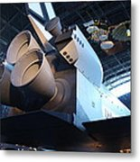 Udvar-hazy Center - Smithsonian National Air And Space Museum Annex - 121272 Metal Print