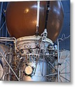 Udvar-hazy Center - Smithsonian National Air And Space Museum Annex - 121274 Metal Print by DC Photographer