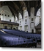 Uf University Auditorium Interior And Seating Metal Print